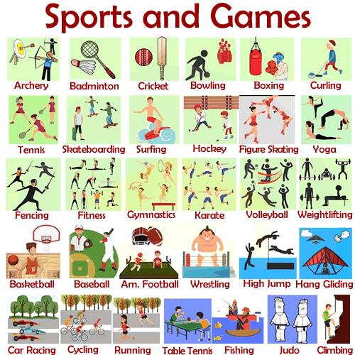 VOCABULARY – Sports and Games – ENGLISH – Your Way!